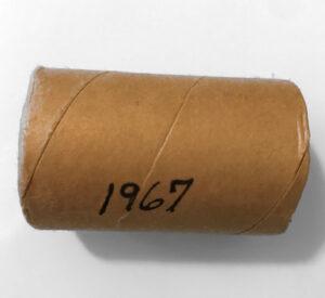 1967 50cA 300x275 - 1967 Canada 50-cent Original Silver Roll