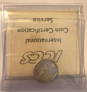 1960 R 300x320 - 1960 Canada 10-cent ICCS MS65
