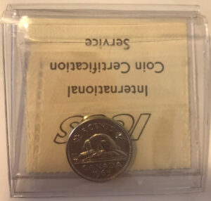 1965 R 300x286 - 1965 Canada 5-cent ICCS PL64 Cameo