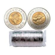 2000 Knowledge 185x185 - 2000 Knowledge Canada $2 Original Mint Roll