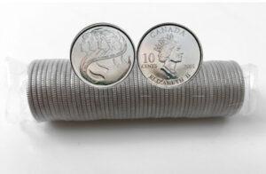 2001 Volunteer 300x196 - 2001-P Year of the Volunteer Canada Original 10-cent Roll
