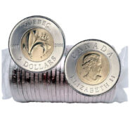 2008 2Q 185x185 - 1608-2008 Canada 400th Quebec $2 Original Mint Roll