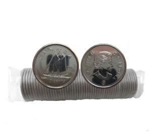 2013 300x273 - 2013 RCM Logo Canada Original Dime 10-cent Roll
