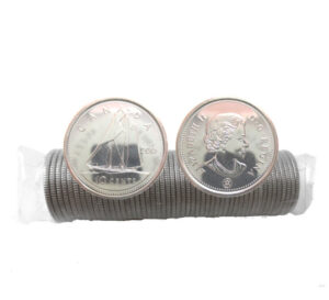 2015 300x273 - 2015 RCM Logo Canada Original Dime 10-cent Roll