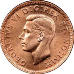 Small Cents 1937 to 1952 (George VI)