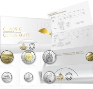 2019 UNC Set 300x286 - 2019 Canada Classic UNC Coin Set