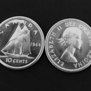 1964 10c 185x185 - 1964 Canada 10-cent Ch-UNC 0.800 Silver Dime