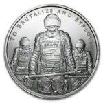 2015 Slave Police 150x150 - 2015 Silver Shield Slave Police BU Silver 1oz Round