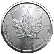 SML Leaf 2020 185x185 - 2020 Canada BU $5 Silver Maple Leaf 1oz Coin