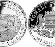 Somalia 2020 185x158 - 2020 Somalian African Elephant 1oz Fine Silver Coin
