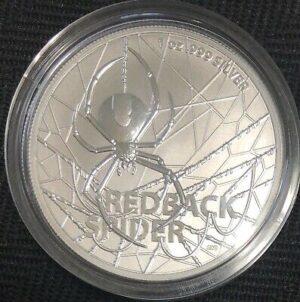 au20redback 300x302 - 2020 Australia $1 Redback Spider BU Silver 1oz Coin