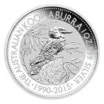 2015 Kookaburra 150x150 - 2015 Australian Kookaburra 1oz Fine Silver Coin