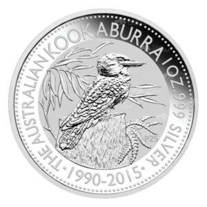 2015 Kookaburra 300x300 - 2015 Australian Kookaburra 1oz Fine Silver Coin
