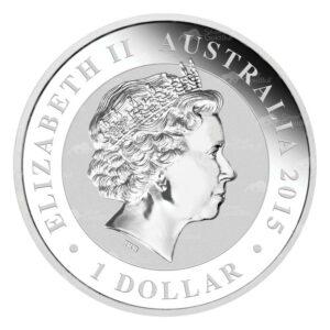 2015 Kookaburra B 300x300 - 2015 Australian Kookaburra 1oz Fine Silver Coin