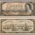 1954 20 JE UNC 150x150 - 1954 $20 J/E Prefix Beattie-Coyne BC-41b UNC Condition