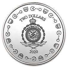 2020 PacMan Niue B - 2020 Pac-Man 40th Anniversary Niue 1oz Fine Silver Coin
