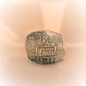 Anubis 1oz B 300x300 - 1oz Monarch Egyptian Relic Series Anubis Silver Bar