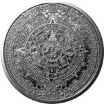 Aztec B 150x150 - 1oz Aztec Calendar Fine Silver Round